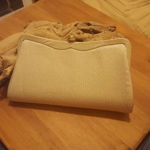 Vintage 50s/60s Gold Admiral Evening Clutch